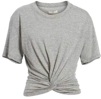 7 For All Mankind Knotted Tee