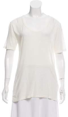 Alexander Wang Silk-Blend Knit T-Shirt