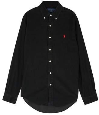 Polo Ralph Lauren Black Corduroy Shirt