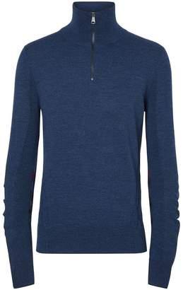 Burberry half-zip sweater