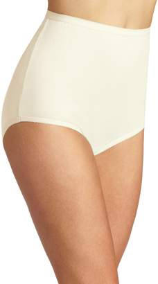 Vanity Fair Women's Perfectly Yours Tailored Cotton Brief Panty 15318, Candleglow, 11