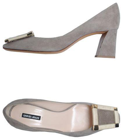 Giorgio Armani Moccasins with heel