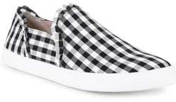 Kate Spade Lily Gingham Sneakers