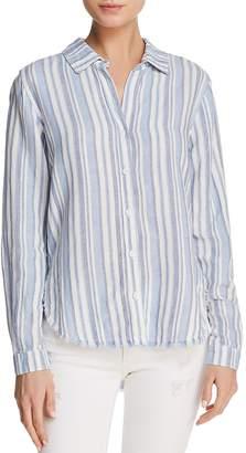 Bella Dahl Fringed Button-Down Shirt