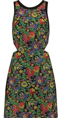 3.1 Phillip Lim Cutout Floral-Jacquard Mini Dress
