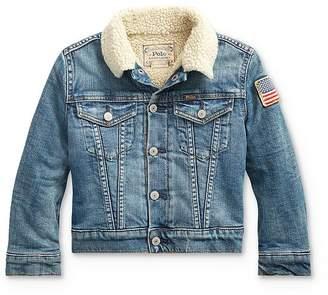 Ralph Lauren Boys' Denim Trucker Jacket - Little Kid