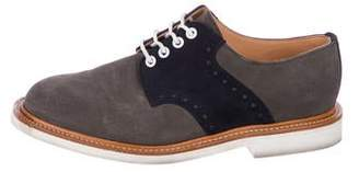 Mark McNairy New Amsterdam Suede Spectator Brogues