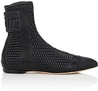 Ballin Alchimia Di Women's Artogeia Quilted Leather Ankle Boots