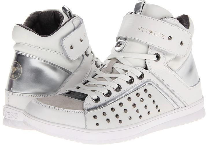 GUESS Tiesto 3 (White) - Footwear