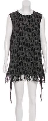 Damir Doma Jacquard Mini Dress