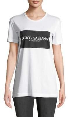 Dolce & Gabbana Jersey Cotton Logo Tee