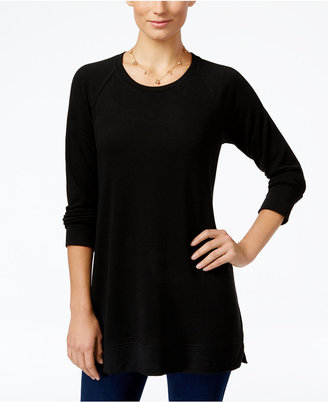 Style & Co. Long-Sleeve Knit Tunic, Only at Macy's $46.50 thestylecure.com