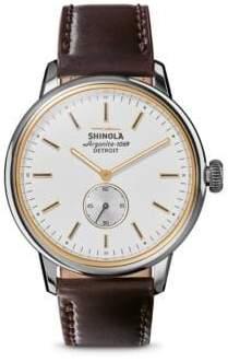Shinola The Bedrock Analog Wristwatch