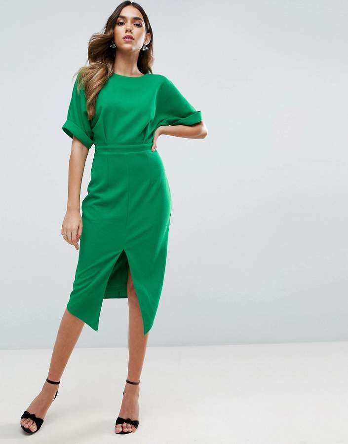 Asos ASOS Wiggle Dress with Split Front