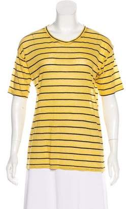 Etoile Isabel Marant Striped Short Sleeve Top w/ Tags