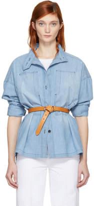 Etoile Isabel Marant Blue Chambray Louise Shirt