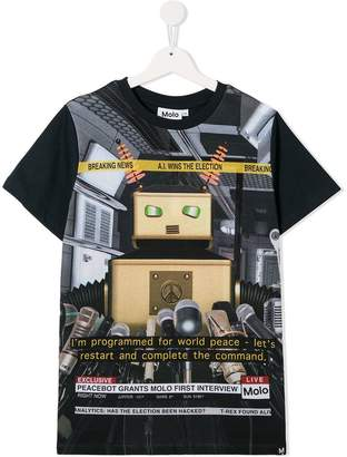 b9cb61e55 Boys Robot Shirt - ShopStyle