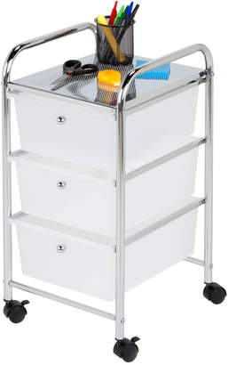 Honey-Can-Do 3 Drawer Rolling Storage Cart