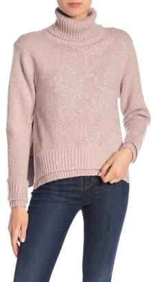 John & Jenn Turtleneck Side Slit Sweater