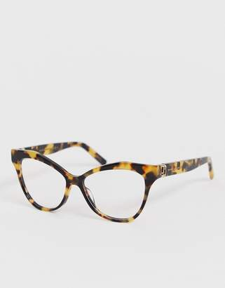 5709da67c3 at ASOS · Marc Jacobs tortoiseshell cat eye clear lens glasses
