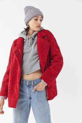 C/Meo Collective World Tour Reversible Sherpa Coat