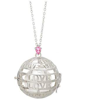 Goyal Paris Necklace Future Moms Love Silver And Pink Tourmaline