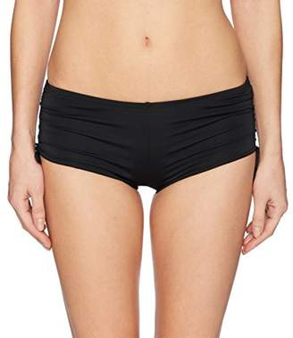 Hobie Junior's Solid Hot Pant Bikini Bottom