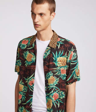AllSaints Devoir Hawaiian Shirt