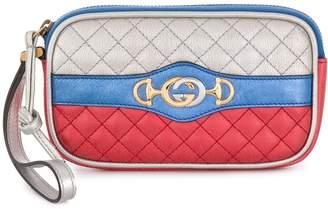 Gucci logo wrist wallet
