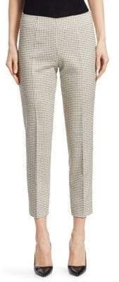 Piazza Sempione Monia Windowpane Pants