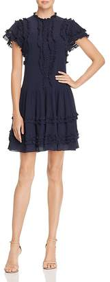 Rebecca Taylor Ruffled Voile Dress