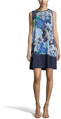 John Paul Richard Floral Print Shift Dress