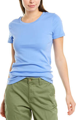 J.Crew 1X1 Ribbed Solid T-Shirt