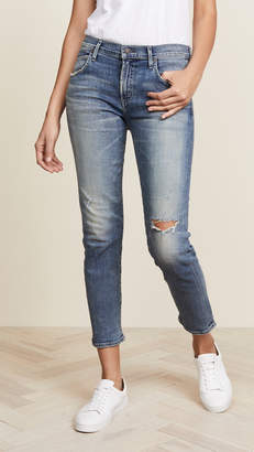 Citizens of Humanity The Principle Girlfriend Jeans with Shadow Pockets
