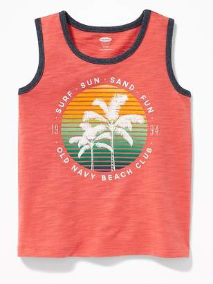 Old Navy Graphic Slub-Knit Tank for Toddler Boys