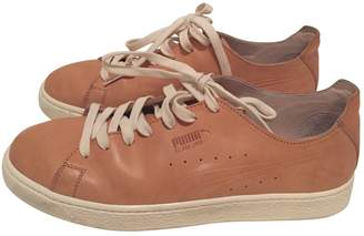 Puma Leather trainers