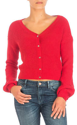 GUESS Sharon Cropped Cardigan