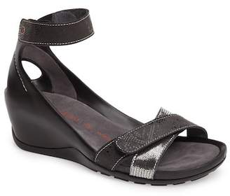Wolky DO ANKLE STRAP WEDGE SANDAL