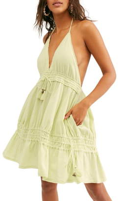 Free People Signorina Halter Sundress