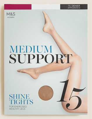 Marks and Spencer 15 Denier Medium Support Sheer Tights