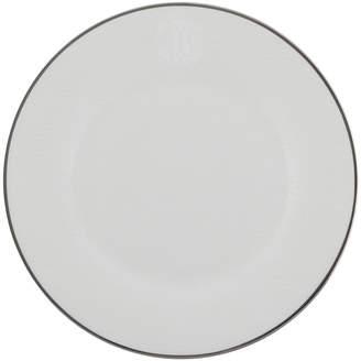 Roberto Cavalli Lizzard Dessert Plates - Set of 6 - Platinum