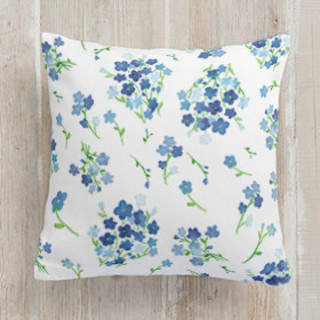 Forget me not Self-Launch Square Pillows
