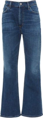 Citizens of Humanity Demy Cropped High-Rise Flare Jeans