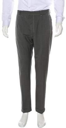 Loro Piana Flat Front Woven Pants