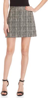 Milly Modern Tweed Mini Skirt