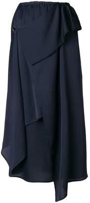 Christian Wijnants asymmetric midi skirt