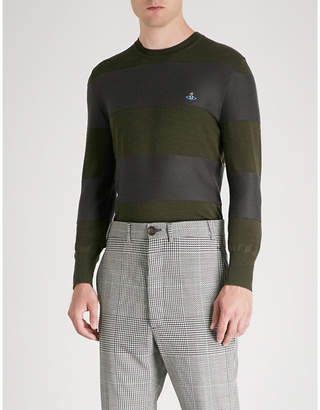 Vivienne Westwood Striped wool jumper
