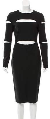 Cushnie et Ochs Cutout Bodycon Dress