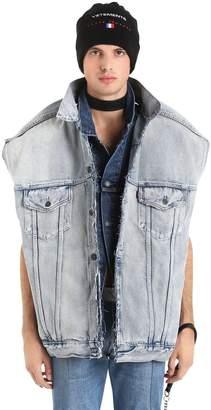 Vetements Levi's Denim Double Oversized Vest