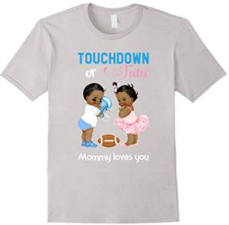 Cute Ethnic Touchdown or Tutu Mommy Loves You T-Shirt